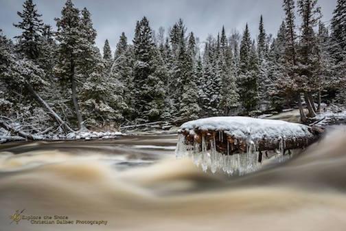 Beaver River by Christian Dalbec.