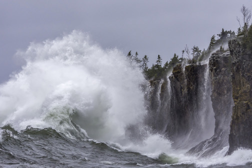 Monster Waves by Christian Dalbec.
