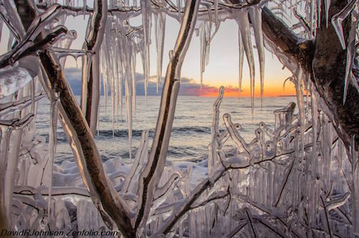 Ice Window by David Johnson.
