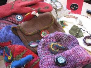 The Northern Fiber Guild's Holiday Open House & Sale features a wide variety of handcrafted work.
