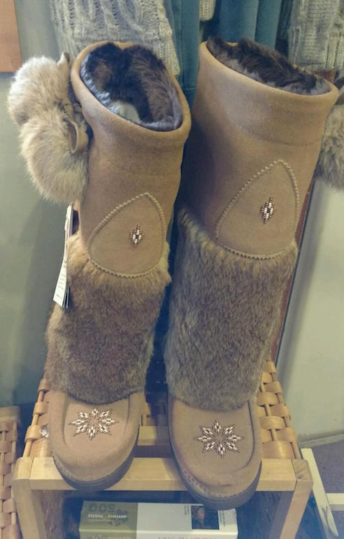Great Gifts of Lutsen carried Manitoba Mukluks.