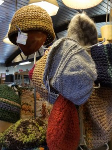 Joy & Co has a great selection of hats for winter.