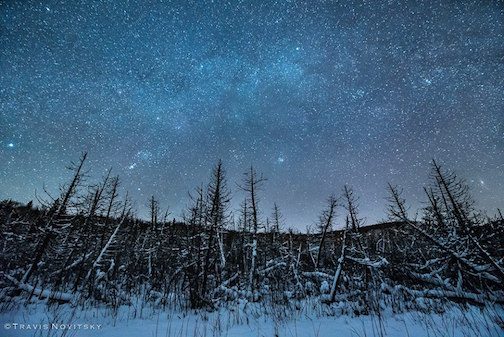 A magical December Night by Travis Novitsky.