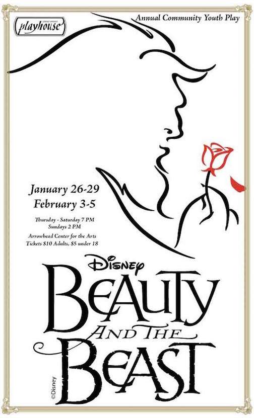 "Disney's ""Beauty and the Beast"" opens at the ACA on Thursday."