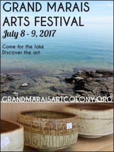 Applications for the Grand Marais Arts Festival are now open.