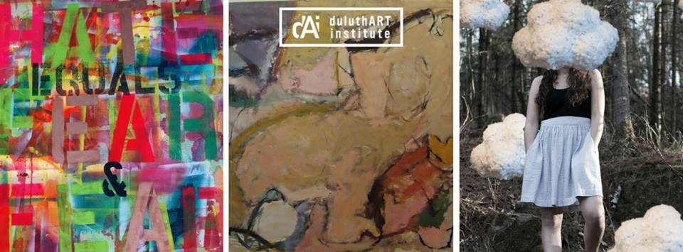 The Duluth Art Institute opens three exhibits on Thursday.
