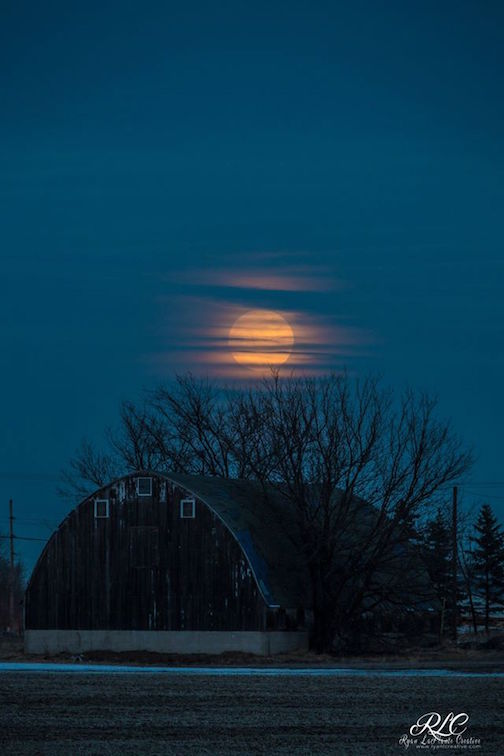 Ryan LaPlante: Snow Moon Rising.