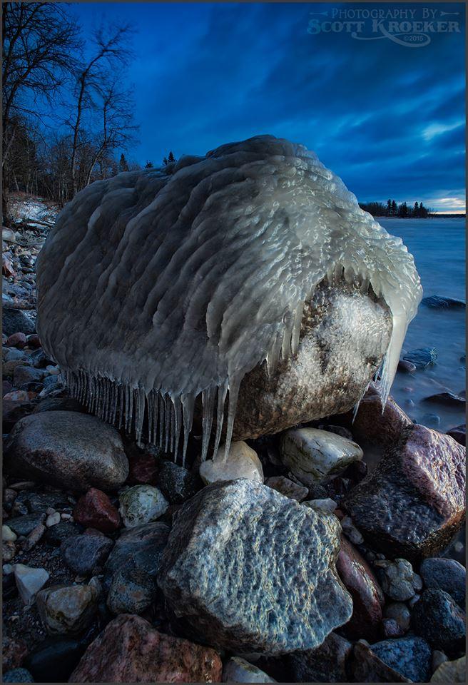 Ice Toupee by Scott Kroeker.