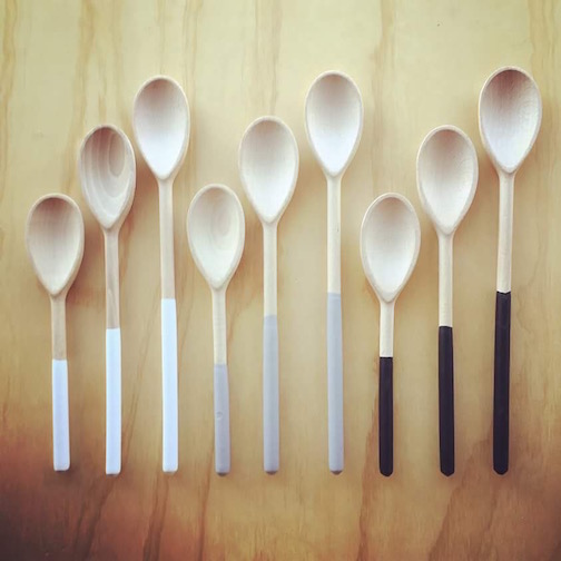 Spoons by Willful Goods of Minneapolis.