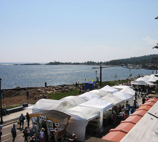 Ever thought about being in the Grand Marais Arts Festival? There's still time to apply!