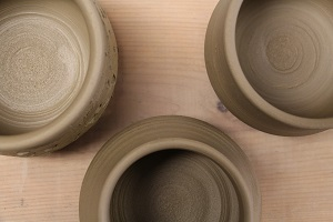 The spring Make-A-Bowl event at the Grand Marais Art Colony is