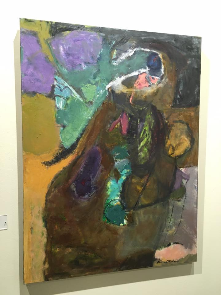 This painting by Elizabeth Kuth is on exhibit at the Duluth Art Institute's galleries at The Depot.