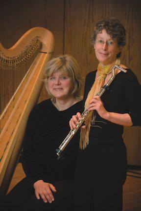 Harpist Janell Lemire and flautist Betty Braunstein will perform at the Grand Marais Public Library at noon on Saturday. Free. All invited.
