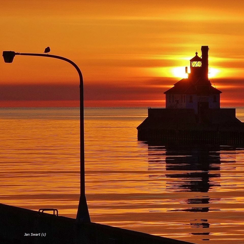 Morning Glow in Duluth by Jan Swart.