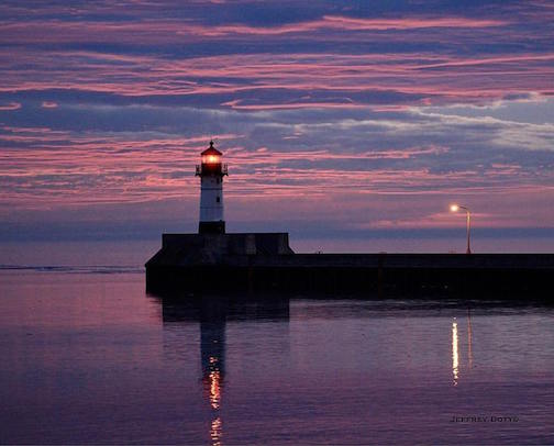 February Sunrise by Jeffrey Doty.