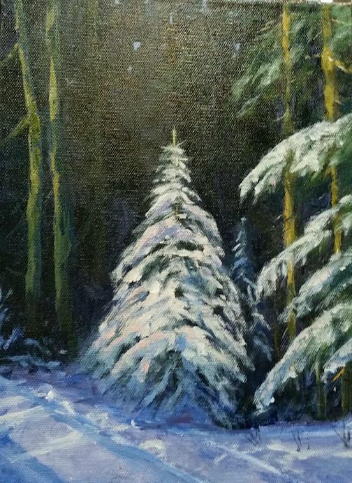 Carol Holmblad has paintings at Joy and Company.