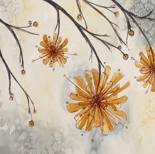 Melinda Wolff of St. Paul is a new artist at Kah-Nee-Tah Galleries in Lutsen.