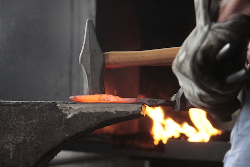 Intro to Blacksmithing will be held at North House Folk School on Thursday night.