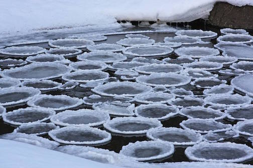 Strange ice by Rubin Stenseng.