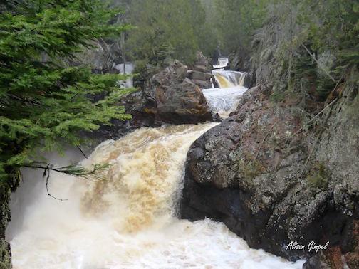 Aliso Gimpel: Cascade River Falls.
