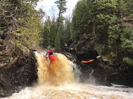 Gushing waterfalls attract adventurers. Photo by  Ryan Zinmy.