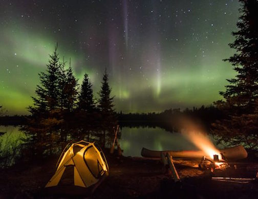 Camping Trip by Thomas Spence. He took this shot when he was camping in the BWCAW recently.