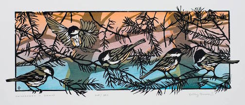 The Spring Art Underground Show Sneak Peak at Betsy Bowen Galleries and Studio is from 5-7 p.m. Friday. Bowen's woodcut prints are featured in the show