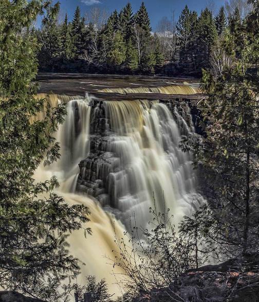 Kakabeka Falls (near Thunder Bay)  by Don Malcolm.