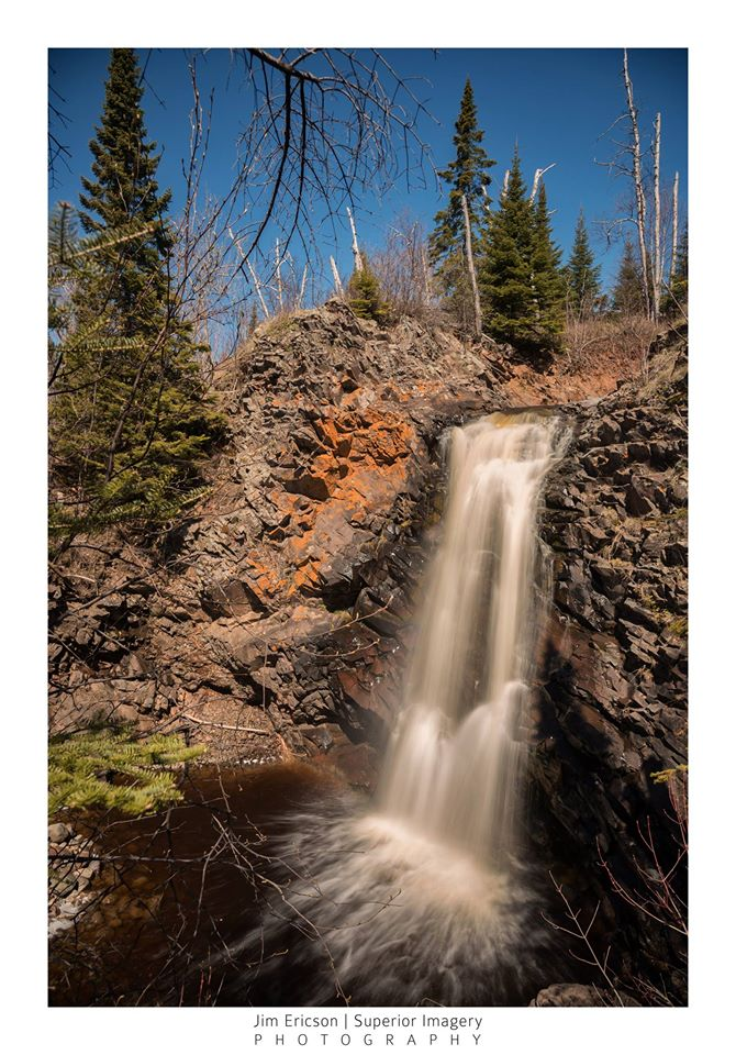 Fall River falls by Jim Ericson.