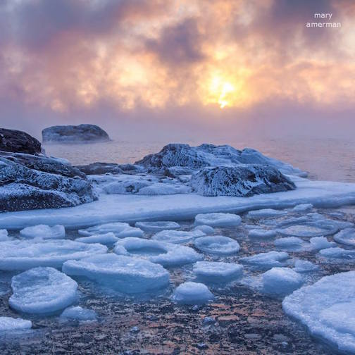 Mary Amerman is one of the photographers who will exhibit at the Frozen Photographer exhibit at the Johnson Heritage Post May 19.