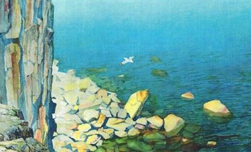 """Bright Beat the Water"" by John Peyton."