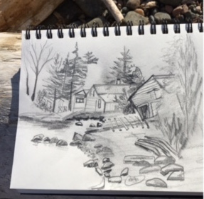 The Arrowhead Sketchers were in Hovland last week.