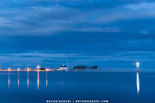Fog at the Blue Hour by Bryan Hansel.