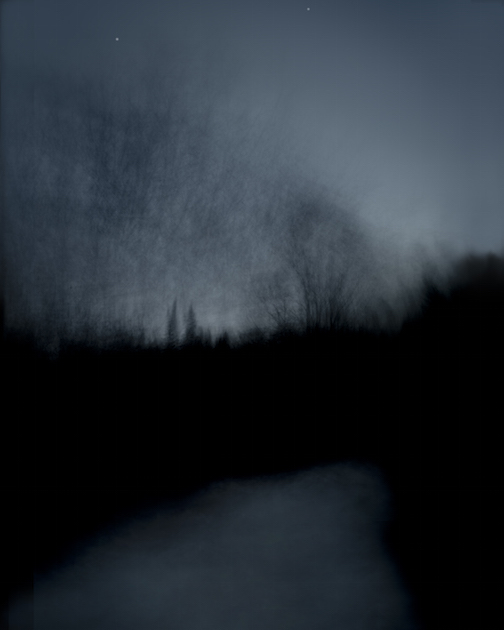"Stephan Hoglund is exhibiting his photographs at the Angry Trout this summer, including ""Dark Path."""