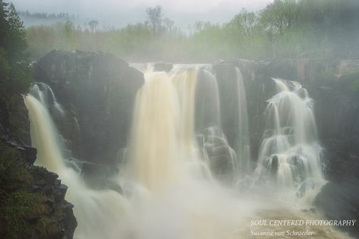 High Falls at Grand Portage by Susanne von Schroeder (Soul Centered Photography).
