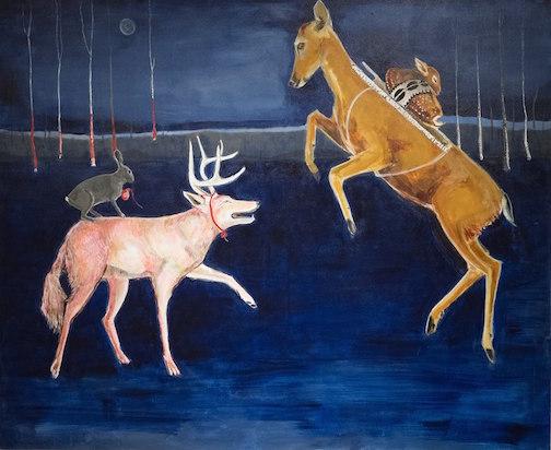 """The Heist"" by Julie Buffalohead."