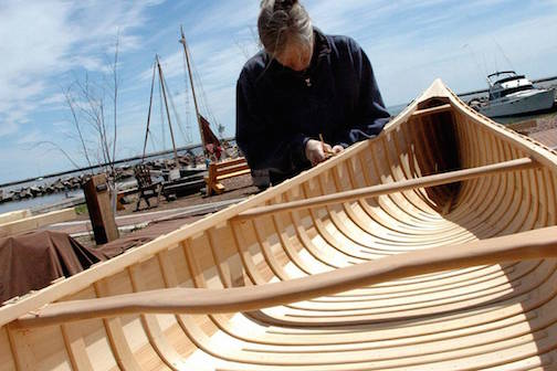 The Wooden Boat Show and Summer Solstice Festival is next weekend.