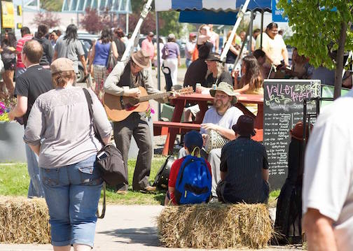 The Bay & Algoma Buskers Festival is in Thunder Bay this weekend.