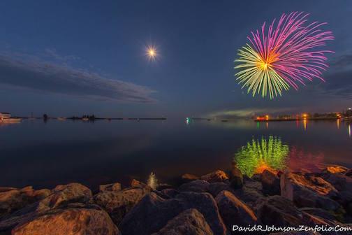 Fireworks by David Johnson.