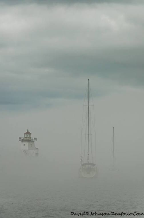 """""""Floating in the Fog"""" by David Johnson."""