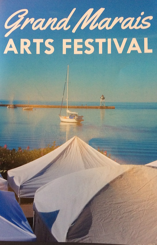 The Grand Marais Arts Festival is from 9 a.m. to 5 p.m. Saturday and from 9 a.m. to 4 p.m. Sunday.