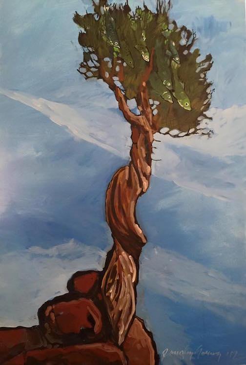 Timothy Young has new work at Kah-Nee-Tah Gallery in Lutsen.
