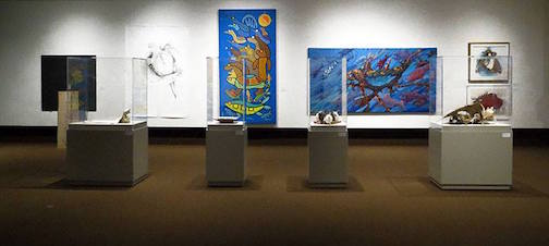Artwork from the Thunder Bay Art Gallery exhibit: The Perspective From Here: 150 Artists from the North.