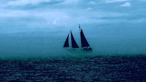 """Hjordis in Fog,"" photo illustration by Todd Mestad."
