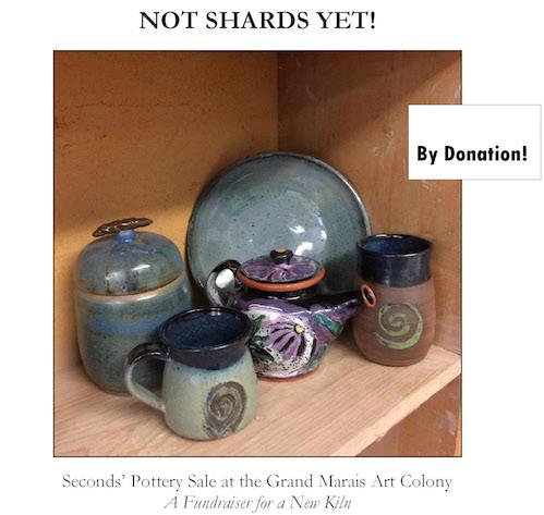Pottery Seconds' Sale copy
