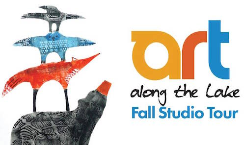 Art Along the Lake: Fall Studio Tour is Sept. 29-Oct. 10.