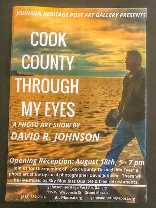 Photographer David Johnson will have a solo exhibit at the Johnson Heritage Post this month.
