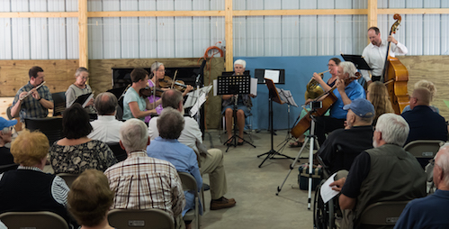 The Gunflint Woods, Winds and Strings concert is always a sell-out. Photo courtesy o David Coleman.