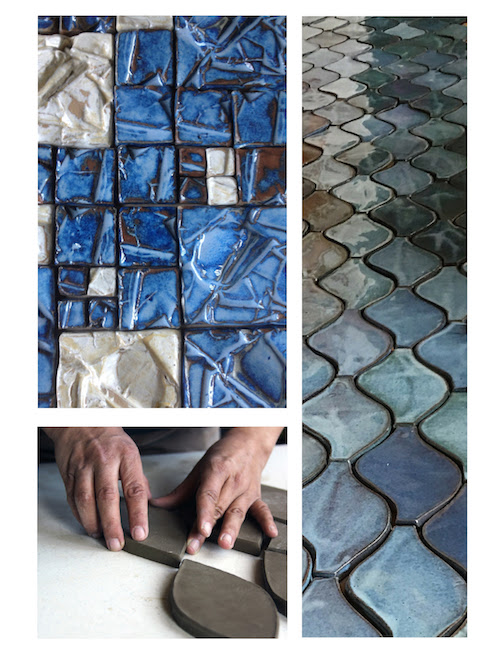 Tilemaker Melissa Wickwire has work at Betsy Bown Studio and Galleries.