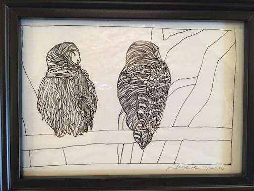 Cleveland Owls by Jill Levene.
